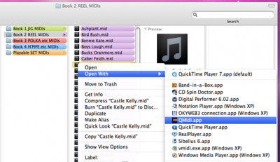Open Midi Files