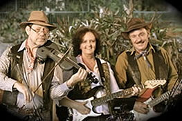 Rantan Bush Band Trio with Mary