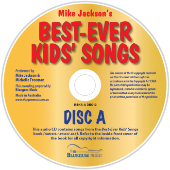 Best-Ever Kids' Songs Disc A