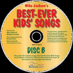 Best-Ever Kids' Songs Disc B