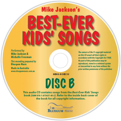 Best-Ever Kids' Songs Disc B