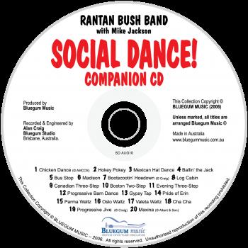 Social Dance CD only